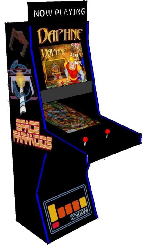arcade game virtual pinball hybrid cabinet arcade art