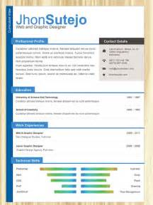 how to use a resume template in word 2007 top 10 free resume templates for web designers