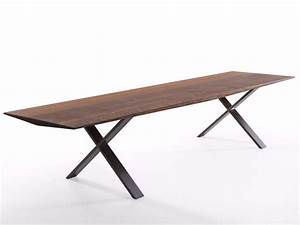 LAX Wooden Bench Lax Collection By MORE Bernhard Mller