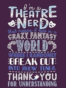 Interview with ... Power Of Theatre Quotes