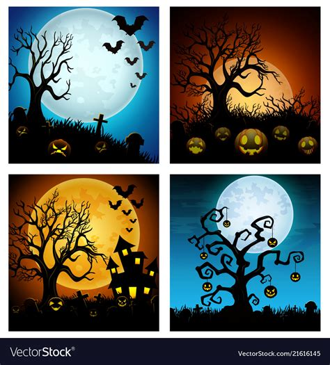 Here you can explore hq halloween banners transparent illustrations, icons and clipart with filter setting like size, type, color etc. Happy halloween banner set Royalty Free Vector Image