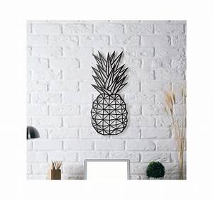 Décoration Murale Métallique : d coration m tallique ananas artwall and co ~ Melissatoandfro.com Idées de Décoration