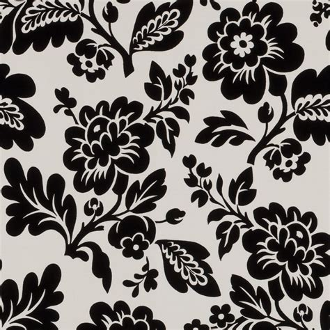black white floral wallpapers floral patterns