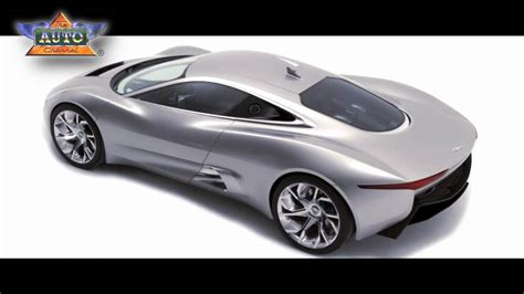 New Jaguar C-x75 Super Sports Car
