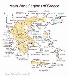 Greece U2014swe Map 2019  U2013 Wine  Wit  And Wisdom