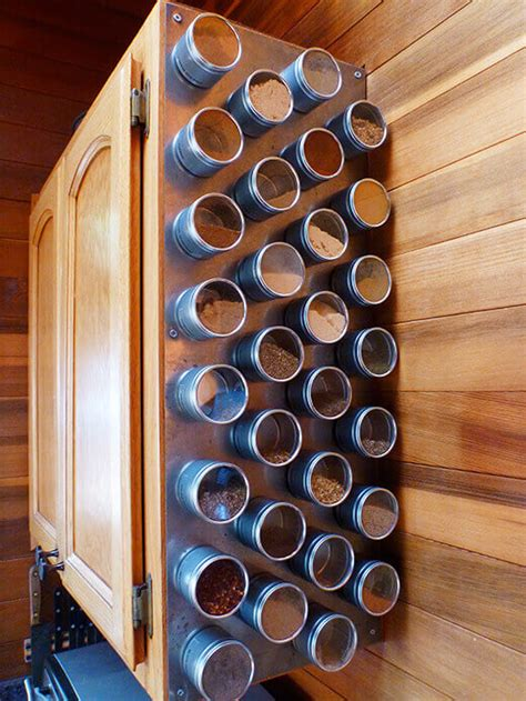 Magnetic Spice Rack India by Make Your Own Magnetic Spice Rack Garden Betty