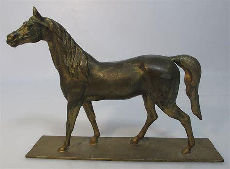antique   western americana equestrian bronze horse