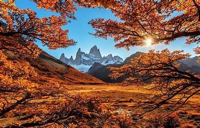 Fall Autumn Mountains Nature Landscape Fitz Mountain