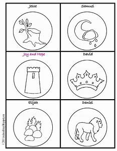 printable jesse tree ornaments coloring pages sketch With jesse tree ornament templates
