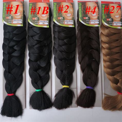 xpression hair colors outre xpression kanekalon braid jjbraids