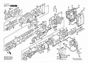 Bosch 11255vsr Parts List