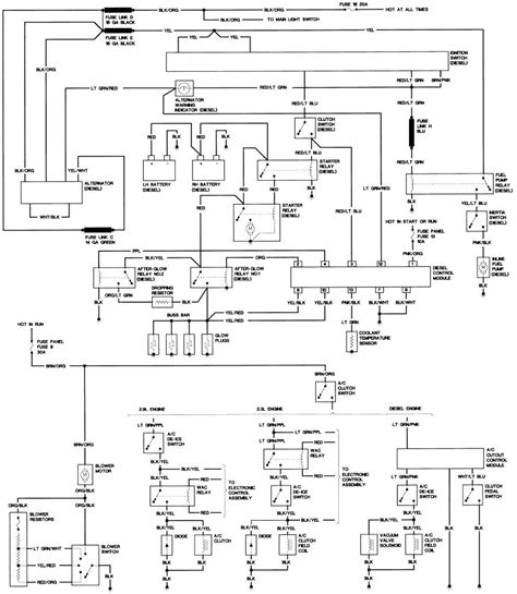1988 Ford Bronco Fuel Line Diagram by Bronco Ii Wiring Diagrams Bronco Ii Corral