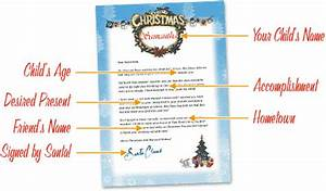 free letters from santa free personalized printable With personal letter from santa claus