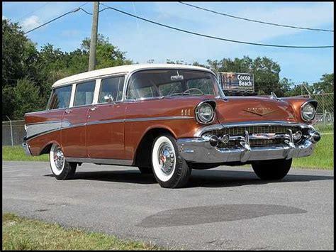 1957 Chevy Station Wagon  Chevrolet Wagon Pinterest