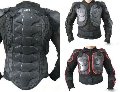 New Motorcycle Body Armor Shirt Jacket Motocross Back