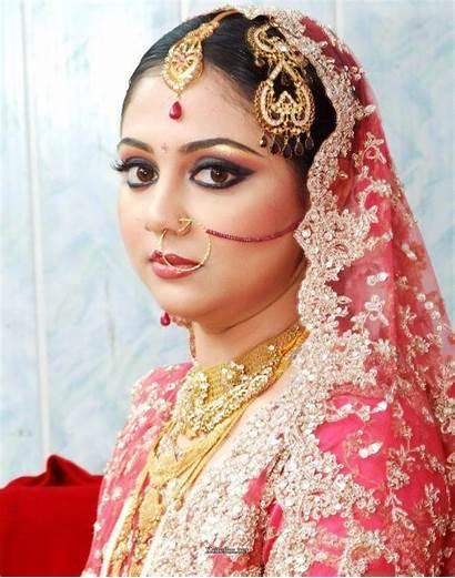 Indian Bridal Traditional Jewelry Makeup Xcitefun