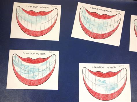 preschool dental health activities from the hive new tooth activity 125