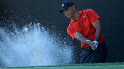 Masters 2018: Watch Tiger Woods chip-in for EAGLE during ...
