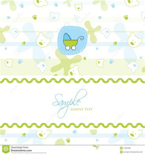 baby shower card template baby shower card template stock vector image of congratulations 17825098