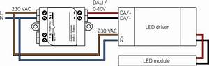 0  1-10v    Dali Interface - Connected Light