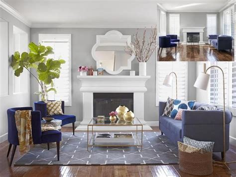 Grey Living Room Hgtv by A S Day Living Room Makeover Living Rooms