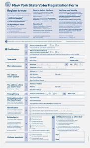 Oxide Design Co. | New York State voter registration form