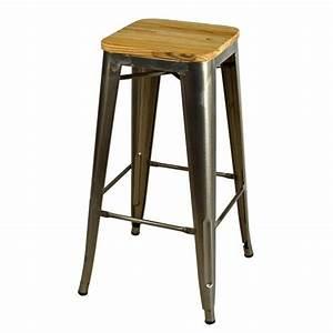 Barhocker Industrial Style : barstool gunmetal 1 elm bar stool pinterest vintage franz sisch und industriell ~ Indierocktalk.com Haus und Dekorationen