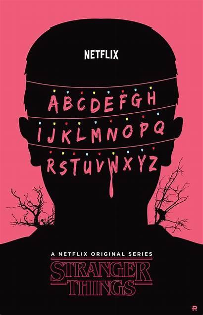 Stranger Netflix Poster Fondo Riselli Diego Pantalla