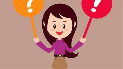 Question Questions Asking Ask Clipart Cartoon Class