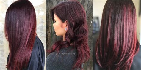 hair color burgundy is burgundy hair color right for you matrix