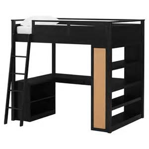 699 00 costco s pottery barn look alike loft bed in brown and i ll paint it black megan