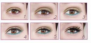 Maquillage Yeux Tuto : tuto maquillage yeux kaki ~ Nature-et-papiers.com Idées de Décoration