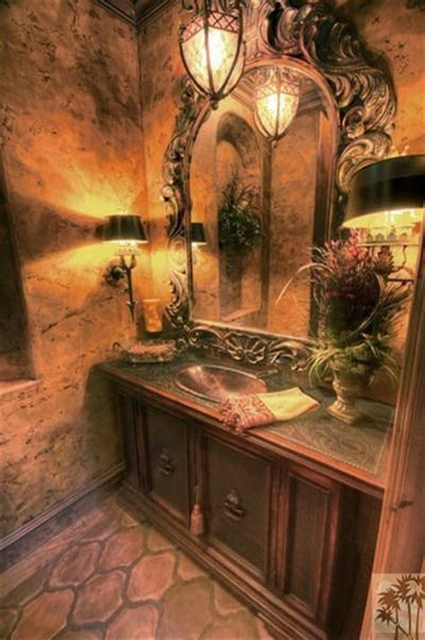old world tuscan style bathrooms com