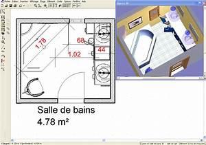 Plan 3d Salle De Bain : cuisine salle de bains 3d ~ Melissatoandfro.com Idées de Décoration