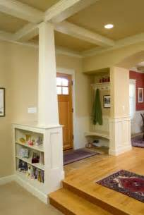 Craftsman Style Home Interior Bungalow Entry