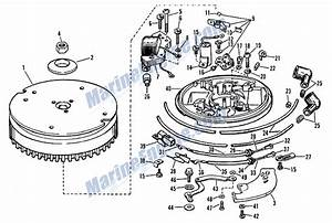 Johnson Magneto Group Parts For 1967 9 5hp Mq