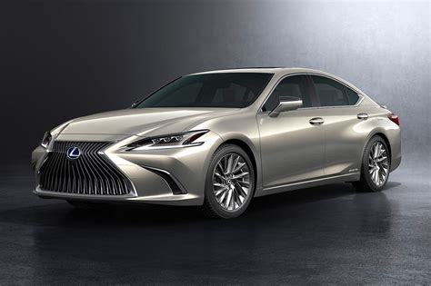 Lexus Es 2019 by 2019 Lexus Es Revealed Hybrid Es 300h Confirmed For