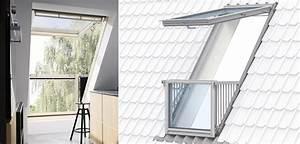 Dachfenster Mit Balkon Austritt : neue fenstergeneration dachgeschoss hat die besten perspektiven ~ Indierocktalk.com Haus und Dekorationen