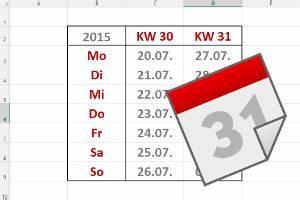 Kalenderwochen Berechnen : datum und uhrzeit der tabellen experte ~ Themetempest.com Abrechnung