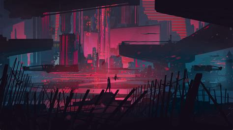 1080p Neon City Wallpaper by Neon City Wallpapers Wallpaper Cave