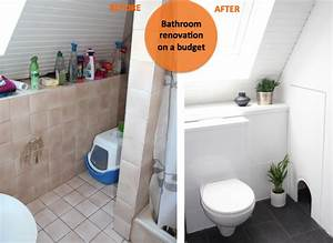 Badezimmer Fliesen Aufpeppen : bathroom renovation on a budget ~ Sanjose-hotels-ca.com Haus und Dekorationen