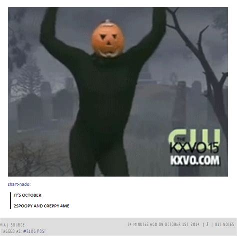 Spoopy Memes - let s get spoopy tumblr s weird obsession with halloween tumblr trends