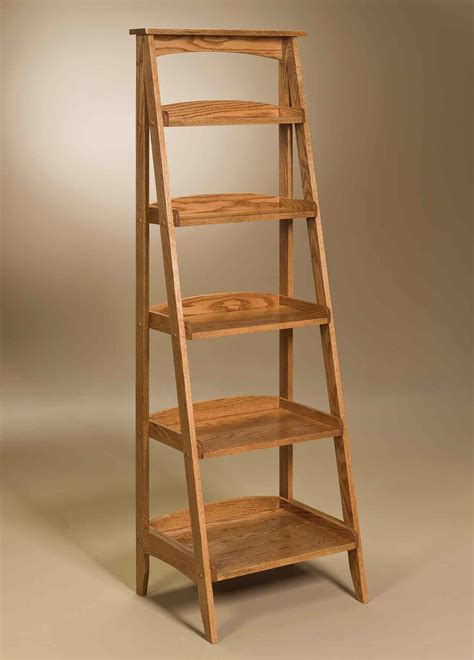 ladder stand      display amish furniture