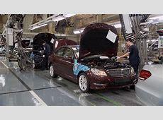 MercedesBenz Factory in China YouTube