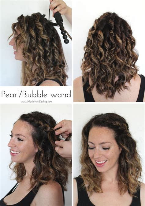17 best ideas about curling wand hairstyles on