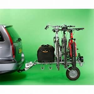 Porte Velo Feu Vert : porte v los remorque sur attelage mono roue pour 5 v los ~ Melissatoandfro.com Idées de Décoration