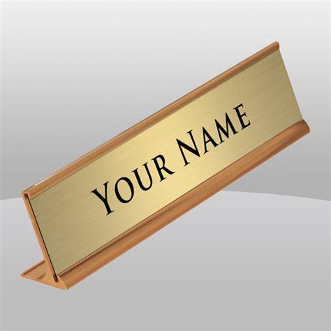 desk name plate designs desk name tag ayresmarcus
