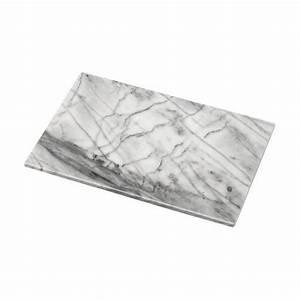 Plaque De Marbre Occasion : plaque de d coupe cuisine sur pieds caoutchouc marbr blanc paisseur 25 mm longueur 400 mm ~ Dode.kayakingforconservation.com Idées de Décoration