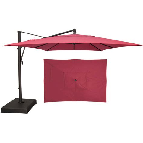 treasure garden patio umbrella replacement canopy treasure garden replacement canopy 10 x 13 akz rectangle