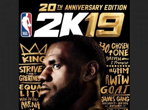 LeBron James Lands NBA 2K19 Cover: